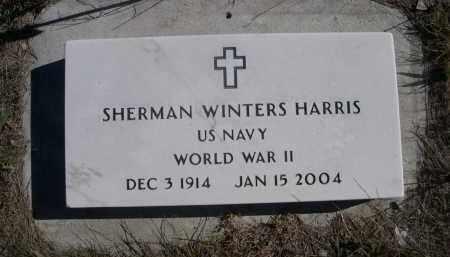 HARRIS, SHERMAN WINTERS - Sheridan County, Nebraska | SHERMAN WINTERS HARRIS - Nebraska Gravestone Photos