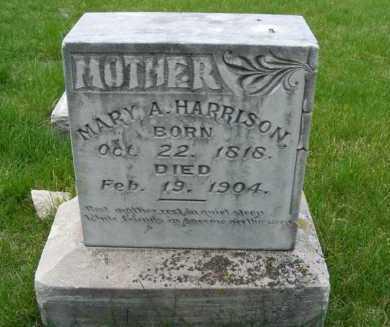 HARRISON, MARY A. - Sheridan County, Nebraska | MARY A. HARRISON - Nebraska Gravestone Photos