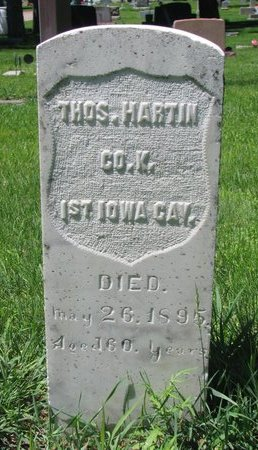 HARTIN, THOMAS - Sheridan County, Nebraska | THOMAS HARTIN - Nebraska Gravestone Photos