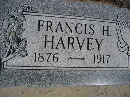 HARVEY, FRANCIS H. - Sheridan County, Nebraska | FRANCIS H. HARVEY - Nebraska Gravestone Photos