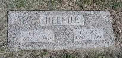 HEEFTLE, A. J. DOC - Sheridan County, Nebraska | A. J. DOC HEEFTLE - Nebraska Gravestone Photos
