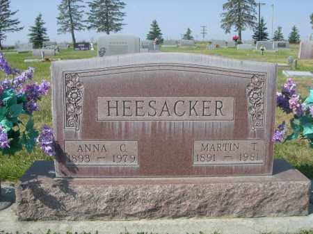 HEESACKER, MARTIN T. - Sheridan County, Nebraska | MARTIN T. HEESACKER - Nebraska Gravestone Photos