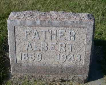 HEESACKER, ALBERT - Sheridan County, Nebraska | ALBERT HEESACKER - Nebraska Gravestone Photos