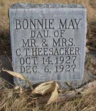HEESACKER, BONNIE MAY - Sheridan County, Nebraska   BONNIE MAY HEESACKER - Nebraska Gravestone Photos