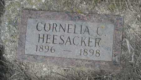 HEESACKER, CORNELIA C. - Sheridan County, Nebraska   CORNELIA C. HEESACKER - Nebraska Gravestone Photos