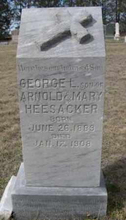 HEESACKER, GEORGE L. - Sheridan County, Nebraska | GEORGE L. HEESACKER - Nebraska Gravestone Photos