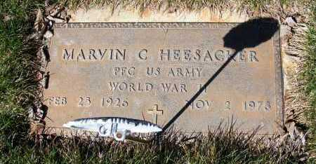 HEESACKER, MARVIN C. - Sheridan County, Nebraska | MARVIN C. HEESACKER - Nebraska Gravestone Photos