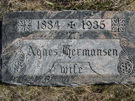 HERMANSEN, AGNES - Sheridan County, Nebraska | AGNES HERMANSEN - Nebraska Gravestone Photos