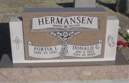 HERMANSEN, DONALD - Sheridan County, Nebraska | DONALD HERMANSEN - Nebraska Gravestone Photos