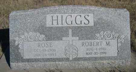 HIGGS, ROBERT M. - Sheridan County, Nebraska   ROBERT M. HIGGS - Nebraska Gravestone Photos