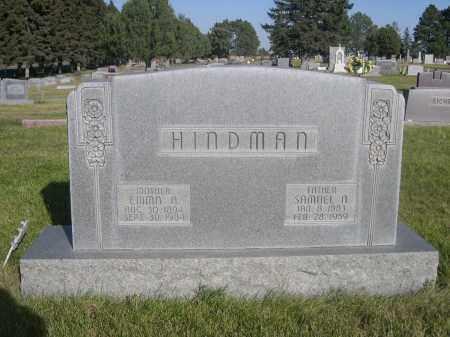 HINDMAN, EMMA A. - Sheridan County, Nebraska | EMMA A. HINDMAN - Nebraska Gravestone Photos