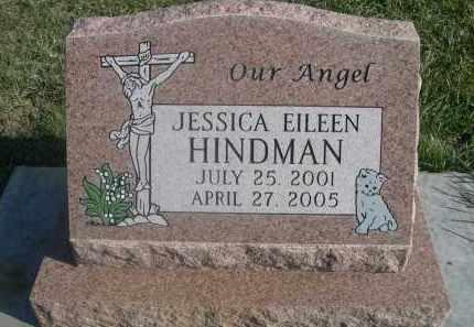 HINDMAN, JESSICA EILEEN - Sheridan County, Nebraska | JESSICA EILEEN HINDMAN - Nebraska Gravestone Photos