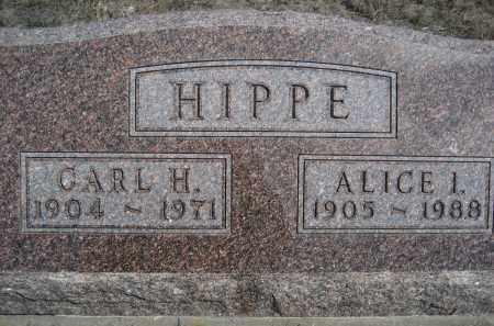 HIPPE, CARL H. - Sheridan County, Nebraska | CARL H. HIPPE - Nebraska Gravestone Photos