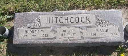 HITCHCOCK, E. LYNN - Sheridan County, Nebraska | E. LYNN HITCHCOCK - Nebraska Gravestone Photos