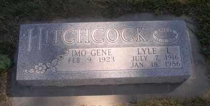 HITCHCOCK, IMO GENE - Sheridan County, Nebraska   IMO GENE HITCHCOCK - Nebraska Gravestone Photos