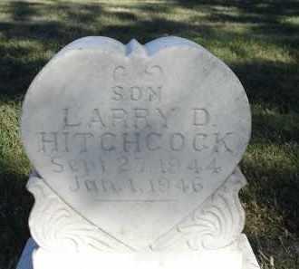 HITCHCOCK, LARRY D. - Sheridan County, Nebraska   LARRY D. HITCHCOCK - Nebraska Gravestone Photos