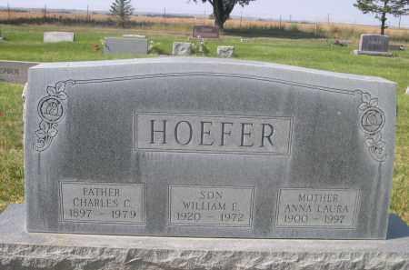 HOEFER, ANNA LAURA - Sheridan County, Nebraska | ANNA LAURA HOEFER - Nebraska Gravestone Photos