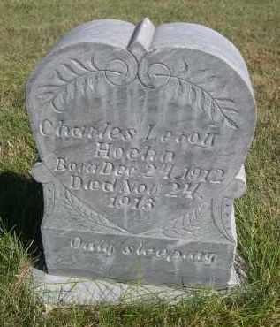 HOEHN, CHARLES LEROY - Sheridan County, Nebraska | CHARLES LEROY HOEHN - Nebraska Gravestone Photos