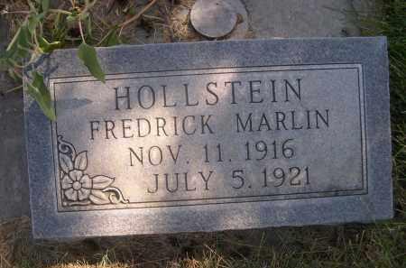 HOLLSTEIN, FREDERICK MARLIN - Sheridan County, Nebraska | FREDERICK MARLIN HOLLSTEIN - Nebraska Gravestone Photos