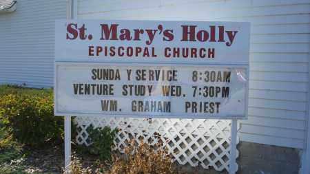 *HOLLY CEMETARY, CHURCH AT - Sheridan County, Nebraska | CHURCH AT *HOLLY CEMETARY - Nebraska Gravestone Photos