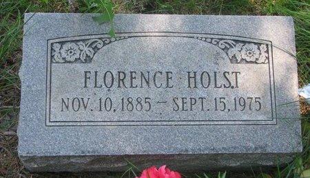 HOLST, FLORENCE ANNA - Sheridan County, Nebraska | FLORENCE ANNA HOLST - Nebraska Gravestone Photos