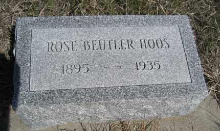 HOOS, ROSE - Sheridan County, Nebraska | ROSE HOOS - Nebraska Gravestone Photos