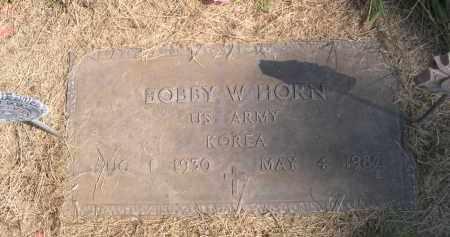 HORN, BOBBY W. - Sheridan County, Nebraska | BOBBY W. HORN - Nebraska Gravestone Photos