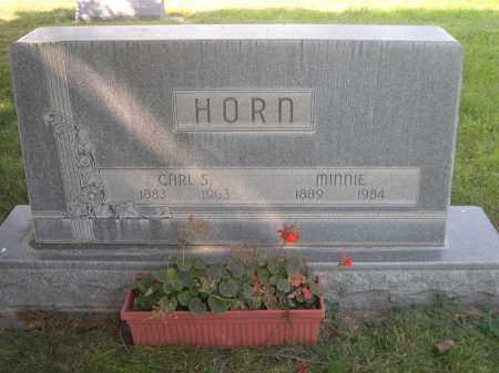 HORN, MINNIE - Sheridan County, Nebraska | MINNIE HORN - Nebraska Gravestone Photos