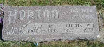 HORTON, CURTIS W. - Sheridan County, Nebraska | CURTIS W. HORTON - Nebraska Gravestone Photos