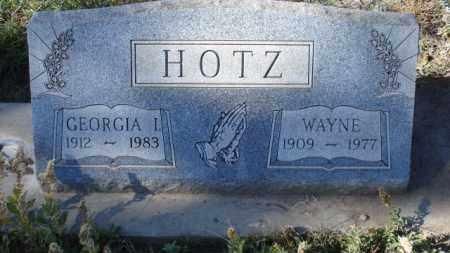 HOTZ, WAYNE - Sheridan County, Nebraska | WAYNE HOTZ - Nebraska Gravestone Photos