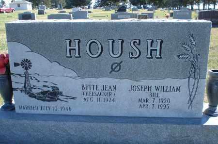 "HOUSH, JOSEPH WILLIAM ""BILL"" - Sheridan County, Nebraska | JOSEPH WILLIAM ""BILL"" HOUSH - Nebraska Gravestone Photos"