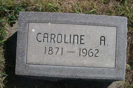 HOUSH, CAROLINE A. - Sheridan County, Nebraska   CAROLINE A. HOUSH - Nebraska Gravestone Photos