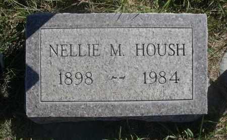 HOUSH, NELLIE M. - Sheridan County, Nebraska | NELLIE M. HOUSH - Nebraska Gravestone Photos