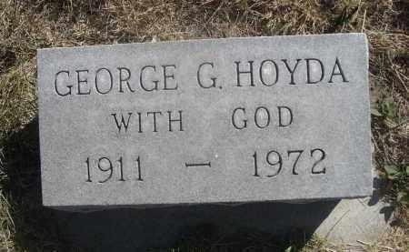 HOYDA, GEORGE G. - Sheridan County, Nebraska | GEORGE G. HOYDA - Nebraska Gravestone Photos