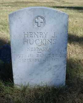 HUCKINS, HENRY J. - Sheridan County, Nebraska | HENRY J. HUCKINS - Nebraska Gravestone Photos