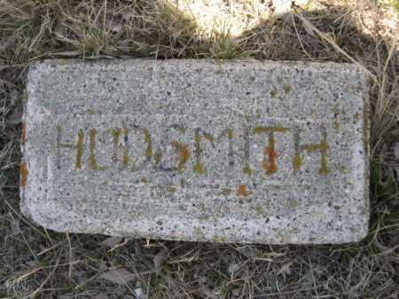 HUDSMITH, PLOT - Sheridan County, Nebraska | PLOT HUDSMITH - Nebraska Gravestone Photos