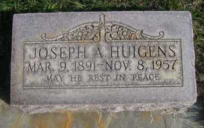 HUIGENS, JOSEPH A. - Sheridan County, Nebraska   JOSEPH A. HUIGENS - Nebraska Gravestone Photos