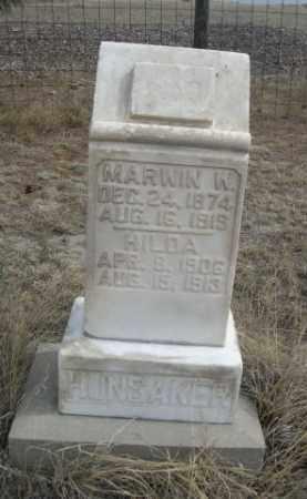 HUNSACKER, MARWIN W. - Sheridan County, Nebraska   MARWIN W. HUNSACKER - Nebraska Gravestone Photos
