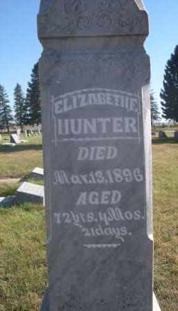 HUNTER, ELIZABETH F. - Sheridan County, Nebraska | ELIZABETH F. HUNTER - Nebraska Gravestone Photos