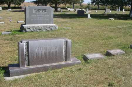 HUNTER, FAMILY PLOT - Sheridan County, Nebraska | FAMILY PLOT HUNTER - Nebraska Gravestone Photos