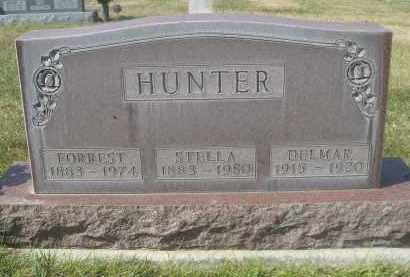 HUNTER, DULMAR - Sheridan County, Nebraska | DULMAR HUNTER - Nebraska Gravestone Photos