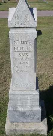HUNTER, ROBERT K. - Sheridan County, Nebraska | ROBERT K. HUNTER - Nebraska Gravestone Photos