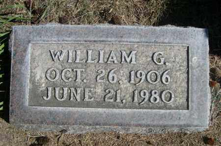 HUNTER, WILLIAM G. - Sheridan County, Nebraska | WILLIAM G. HUNTER - Nebraska Gravestone Photos