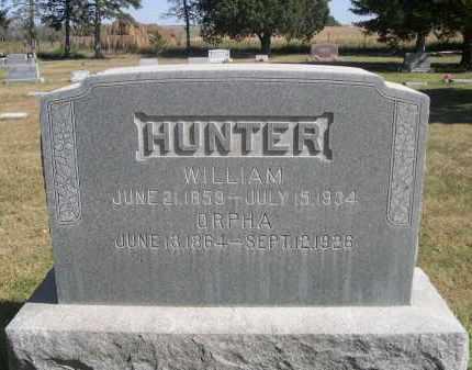 HUNTER, WILLIAM - Sheridan County, Nebraska | WILLIAM HUNTER - Nebraska Gravestone Photos
