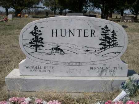 HUNTER, WENDELL KEITH - Sheridan County, Nebraska | WENDELL KEITH HUNTER - Nebraska Gravestone Photos