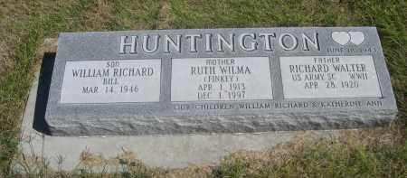 HUNTINGTON, WILLIAM RICHARD - Sheridan County, Nebraska   WILLIAM RICHARD HUNTINGTON - Nebraska Gravestone Photos
