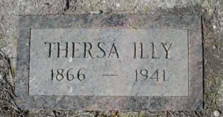 ILLY, THERSA - Sheridan County, Nebraska | THERSA ILLY - Nebraska Gravestone Photos