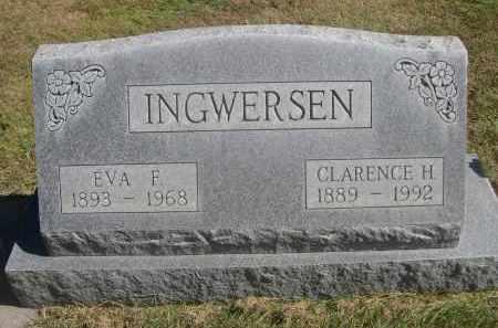 INGWERSEN, CLARENCE H. - Sheridan County, Nebraska | CLARENCE H. INGWERSEN - Nebraska Gravestone Photos