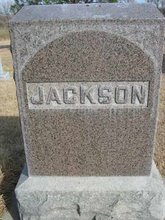 JACKSON, FAMILY - Sheridan County, Nebraska | FAMILY JACKSON - Nebraska Gravestone Photos