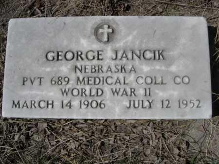 JANCIK, GEORGE - Sheridan County, Nebraska | GEORGE JANCIK - Nebraska Gravestone Photos